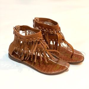 Sam Edelman Fringe Sandals women's size 7.5